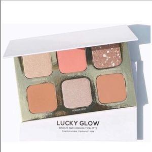 New, Lucky Glow, Highlight & Bronze Palette